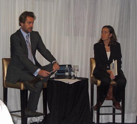 Sebastián Escarrer, vicepresidente de Sol Meliá en la presentación de Madrid