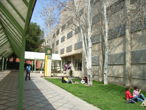 Vista de la Universidad de Jaén