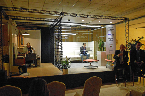 Taller de Ergonomía Office Lab, en WOF Madrid