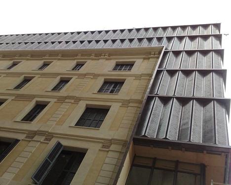 Fachada del citado edificio.