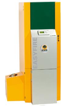 Caldera de Biomasa Easyfire Clean Efficiency