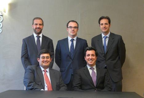 Participantes en el acuerdo de claboración