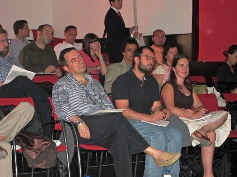 Asistentes a la Jornada Técnica sobre Iluminación, Eficiencia Energética y Arquitectura.