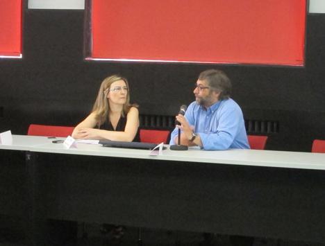 Juan Ramón Sánchez, Director de Relaciones Institucionales del Solar decatholon Europe, fue el encargado de dar la bienvenida a los asistentes.