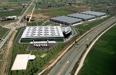 Vista aérea del proyecto vencedor