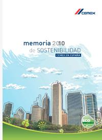 Portada de sostenibilidad de Cemex