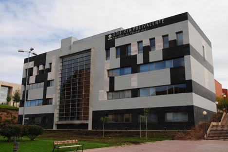 Edificio de la Universidad de Cuenca