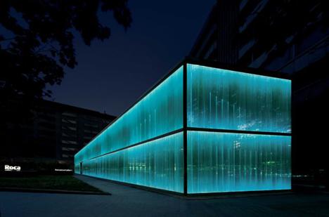 Imagen exterior del Roca Gallery en Barcelona