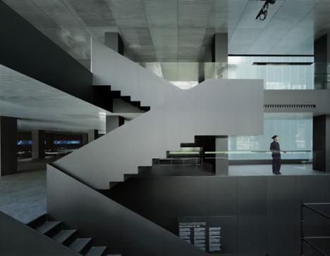 Imagen interior del Roca Gallery en Barcelona