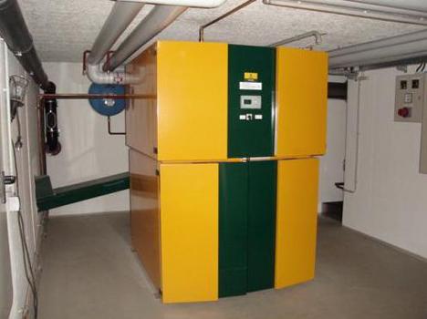 Caldera instalada por HC Ingeniería en el Instituto Alonso Quijada de Toledo