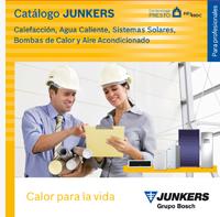 Portada del catálogo de Junkers