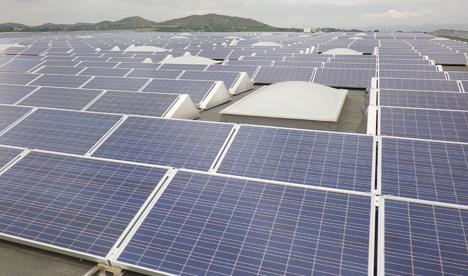 Tejado Solar realizado por Parques Solares de Navarra
