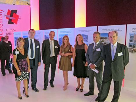 Parte de la delegación española durante la celebración del evento.