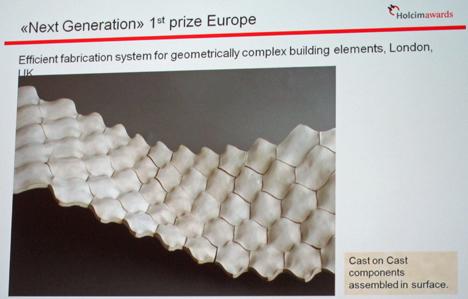 Sistema eficiente para elementos geométricos en complejos de edificios.