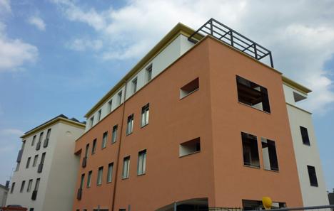 Case Sabin, edificio en proceso de certificación Passivhaus en Pieve Di Soligo, Veneto.