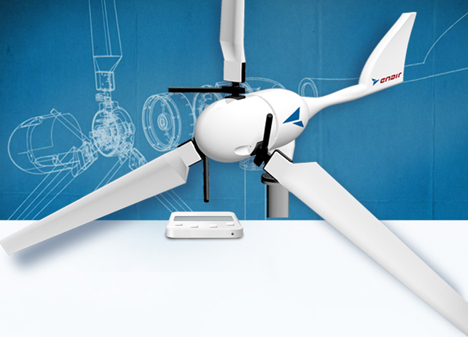 Tecnología minieólica aplicada a la aviación.