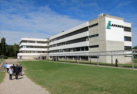 Centro Tecnológico de Investigación de Lafarge en L'Isle d'Abeau, cerca de la ciudad francesa de Lyon.