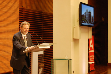 Jose Antonio Granero, Decano del Colegio Oficial de Arquitectos de Madrid