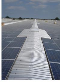 Cubierta fotovoltaica realizada por Conergry
