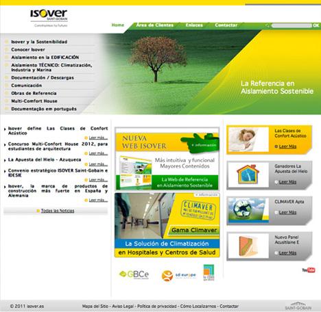 Nueva web de Isover