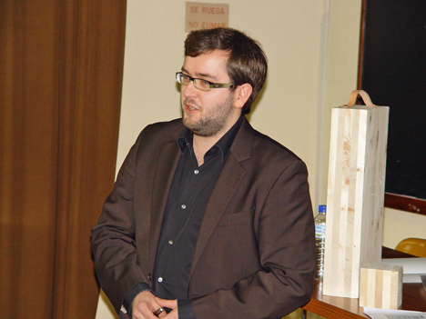 Andreas Ringhofer, profesor de la Universidad de Graz.