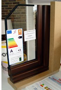 la primera ventana de madera en España con eficiencia energética Clase A, de Torinco SA