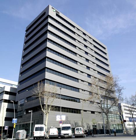 Sede coporativa de Scneider Electric en Barcelona