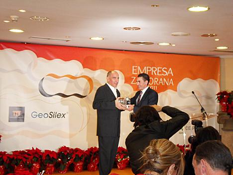 La empresa Geosilex Trenzametal recibe este año el Cecale de Oro y premio al Empresario del año 2011