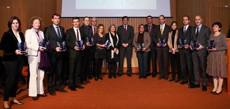 entrega de los premios EMAS Cataluña (Eco-Management and Audit Scheme)