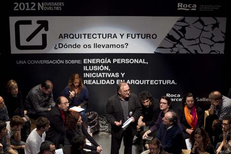 """Coloquio """"Arquitectura y futuro. ¿Dónde os llevamos?"""""""