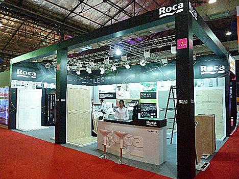 Roca Cerámica estuvo presente en la 10ª edición de la feria Acetech Mumbai 2011