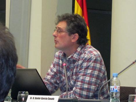 Xavier García, autor del informe Energía 3.0