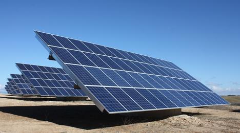 Parque fotovoltaico de Valtierra (Navarra)