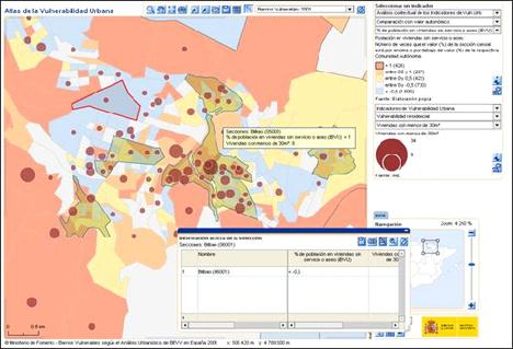"""herramienta de análisis urbano: el """"Atlas de la Vulnerabilidad en España"""""""