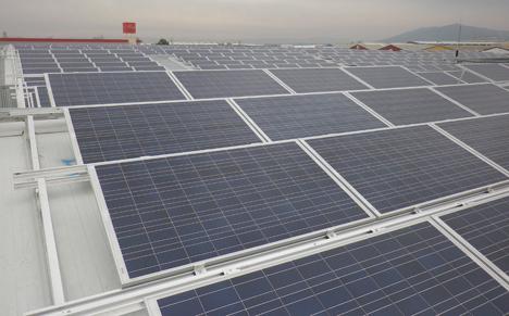 Nuevo tejado solar en Argamasilla de Calatrava (Ciudad Real), promovido por Parques Solares de Navarra