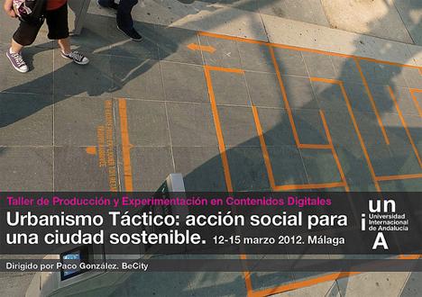 Taller Urbanismo Táctico, Be Ciity