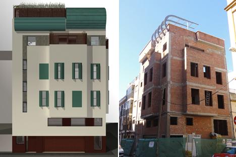 Estudio de Arquitectura Terracota, edificio de clase energética A con paneles ETICS de Knauf