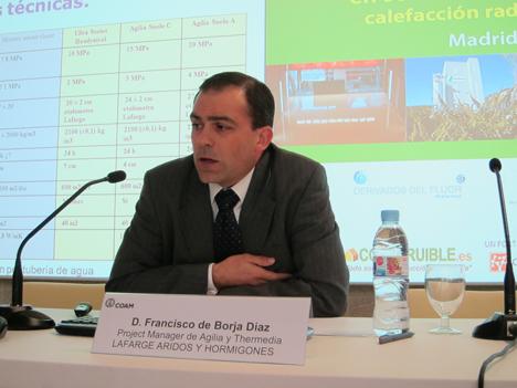 Francisco de Borja Díaz, Project Manager de Lafarge