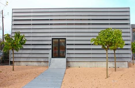 Ampliación consultas externas del hospital Josep Tureta de Girona, Compact Habit