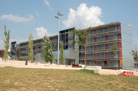 Viviendas universitarias en el Campus de Manresa, Compact Habit