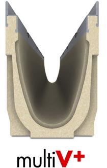 canales multi V+ Ulma Hormigón Polimero