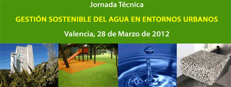 Jornada Gestión Sostenible de Agua en Entornos Urbanos