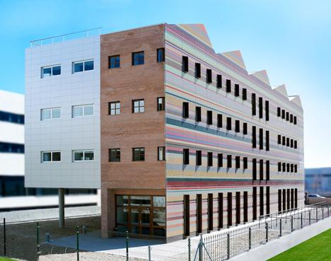 Edificio FBAL, fachada norte