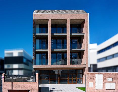 Edificio FBAL, fachada sur