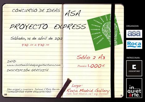 Cartel del concurso Proyecto Express