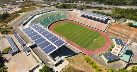 estadio de fútbol de Pituaçu, en Salvador de Bahía