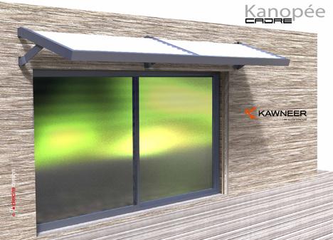 Kanopée Cadre de Kawneer