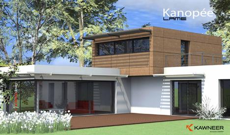 Parasol kanop e de kawneer una nueva protecci n solar for Parasoles arquitectura