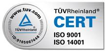 Certificaciones ISO recibidas por Oplan
