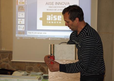 Jesús Martín, profesor técnico de madera y mueble del centro donostiarra de Formación Profesional Politekniko Easo, promotor de AISE